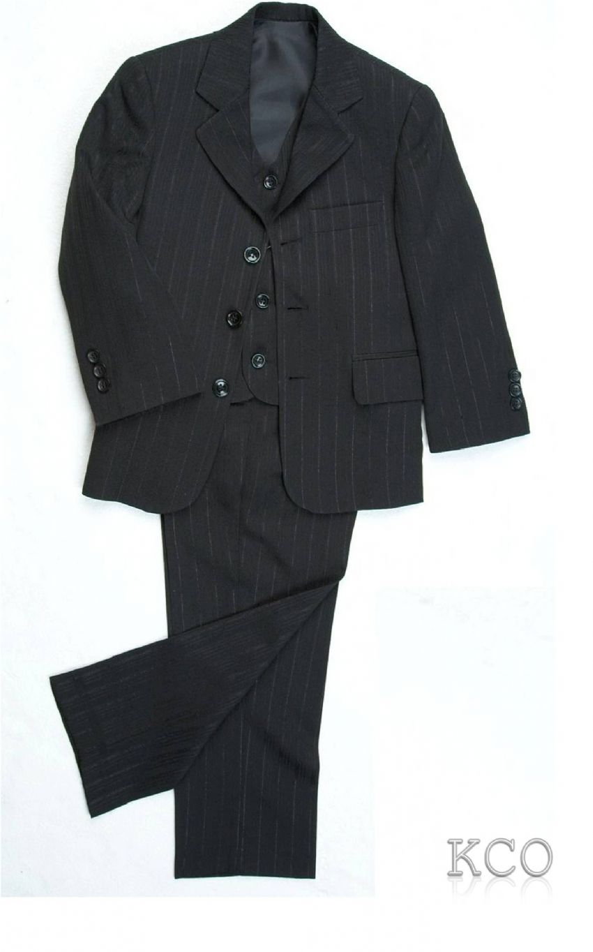 Anthony Black~ 3 Piece Boys Suits
